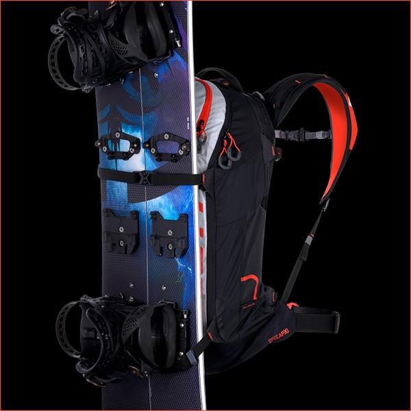 Snowboard fixation