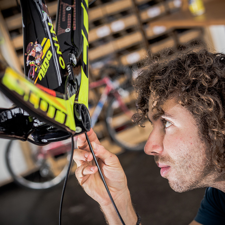 how to build a bike frame