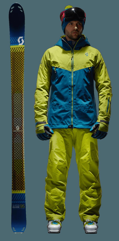Mountain skier